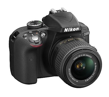 Nikon D3300 + 18-55 VRII + 55-200 VR + 8GB SD Appareil Photo Numérique Compact 24.2 Mpix