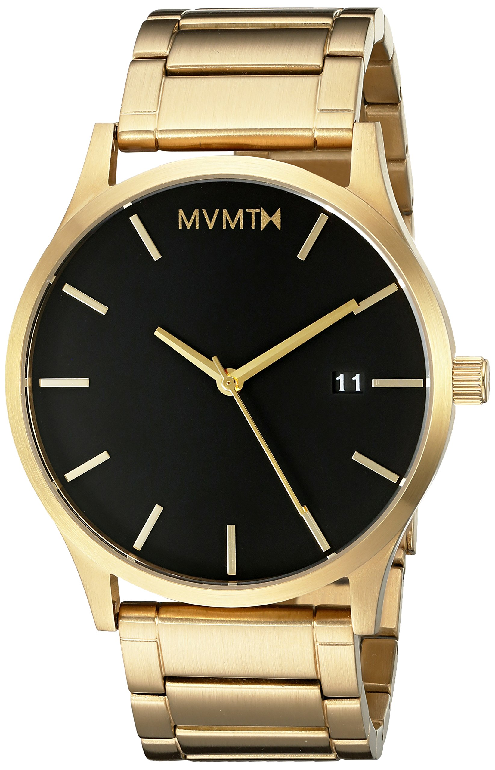 Mvmt watches gold case with gold stainless steel bracelet men 39 s watch chickadee solutions for Wacthes mvmt