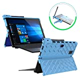Gumdrop Droptech Case Designed for Dell Latitude 5285 and Latitude 5290 2-in-1 Laptop for Commercial, Business and Office Essentials - Light Blue, Shock Absorbing, Rugged, Extreme Drop Protection (Color: Light Blue / Royal Blue, Tamaño: Dell Latitude 5285 / 5290 2-in-1 Tablet (T17G))