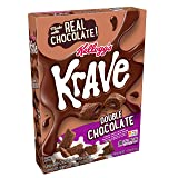 Kellogg's Krave Breakfast Cereal, Double Chocolate, Good Source of Fiber, 11 oz Box (Tamaño: 11 OZ)
