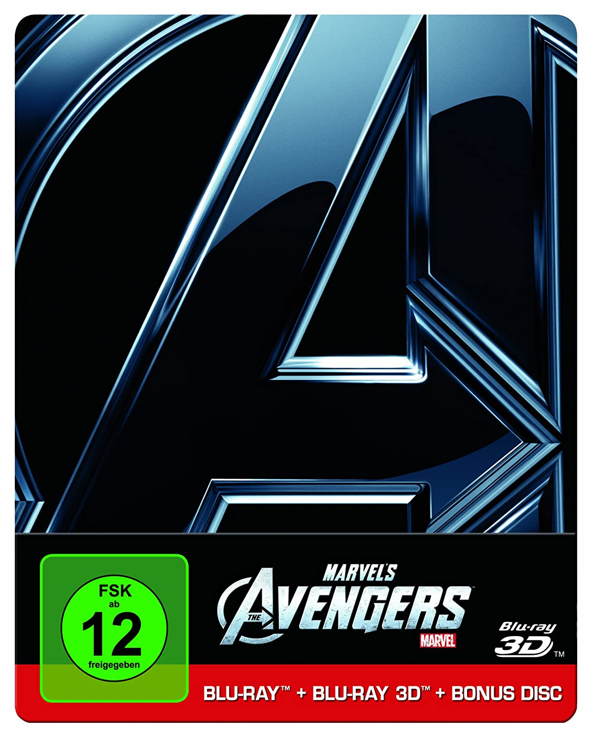 Marvel's The Avengers (Steelbook 2D, Bonus Disc) [3D Blu-ray] – 26,99 EUR