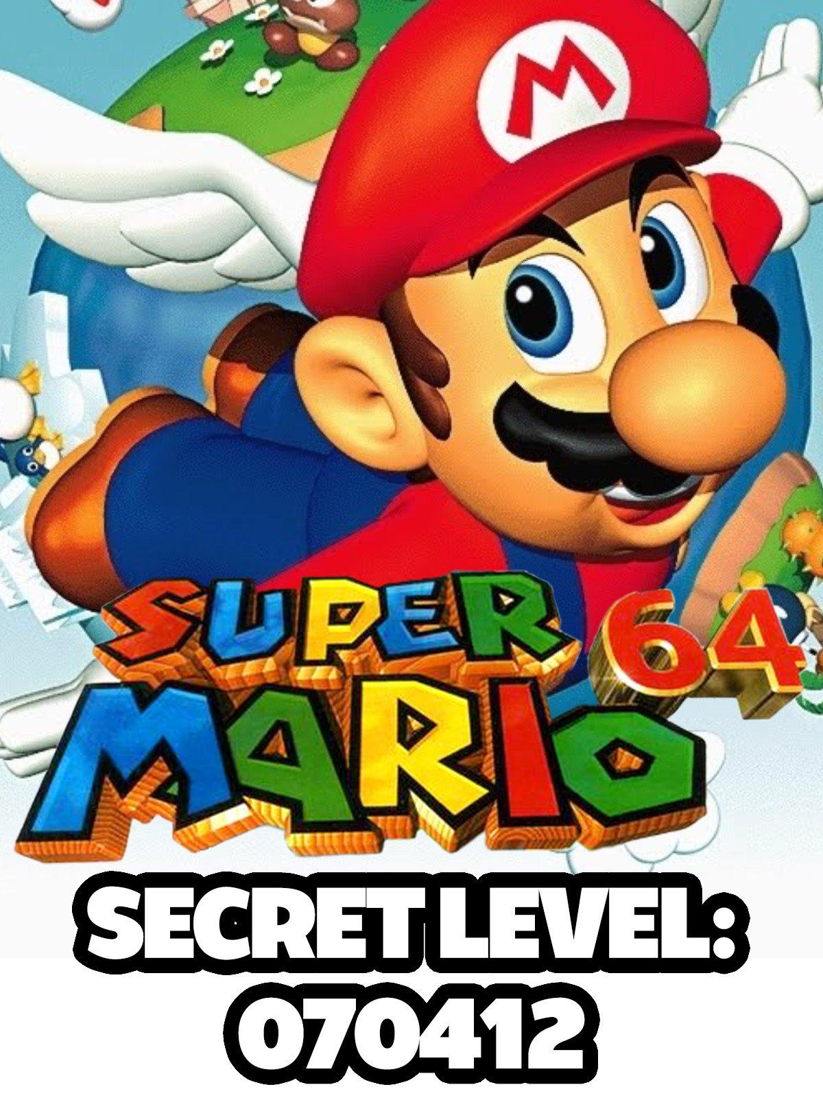 Clip: Super Mario 64: Secret Level 070412