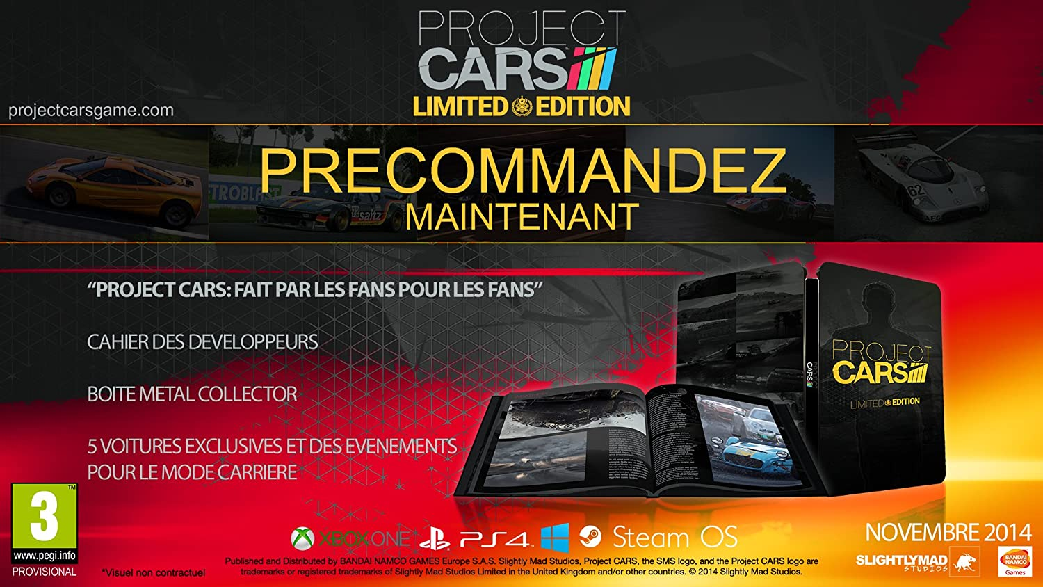 pub project cars