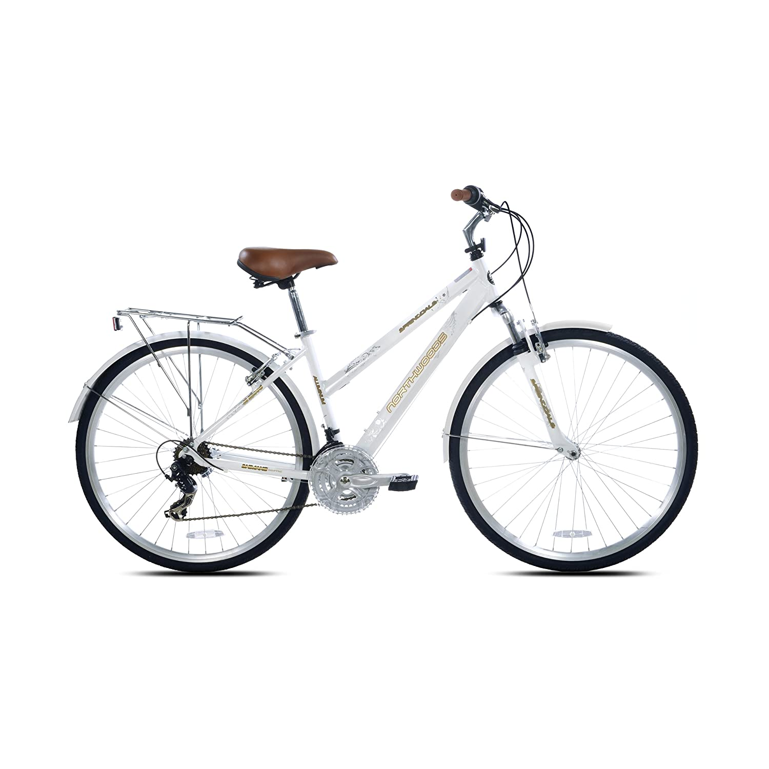 The Northwood Ladies Springdale 21 High Speed Hybrid Bicycle