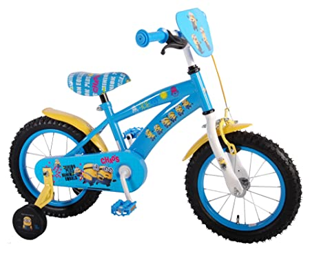 """Volare Minions 14"""" Bicycle"""