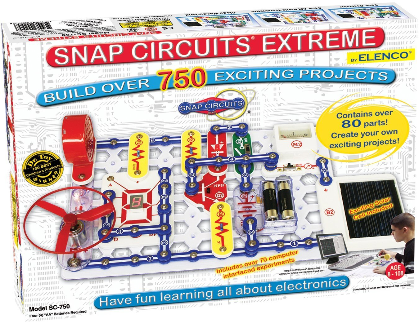 Learning electronics for kids