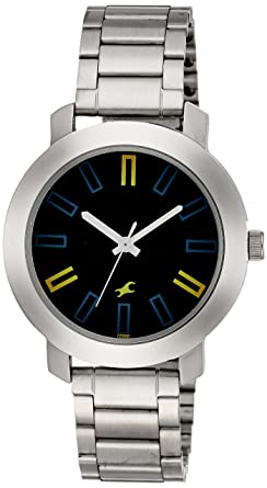 buy fastrack casual analog navy blue dial men s watch 3120sm02 fastrack casual analog navy blue dial men s watch 3120sm02