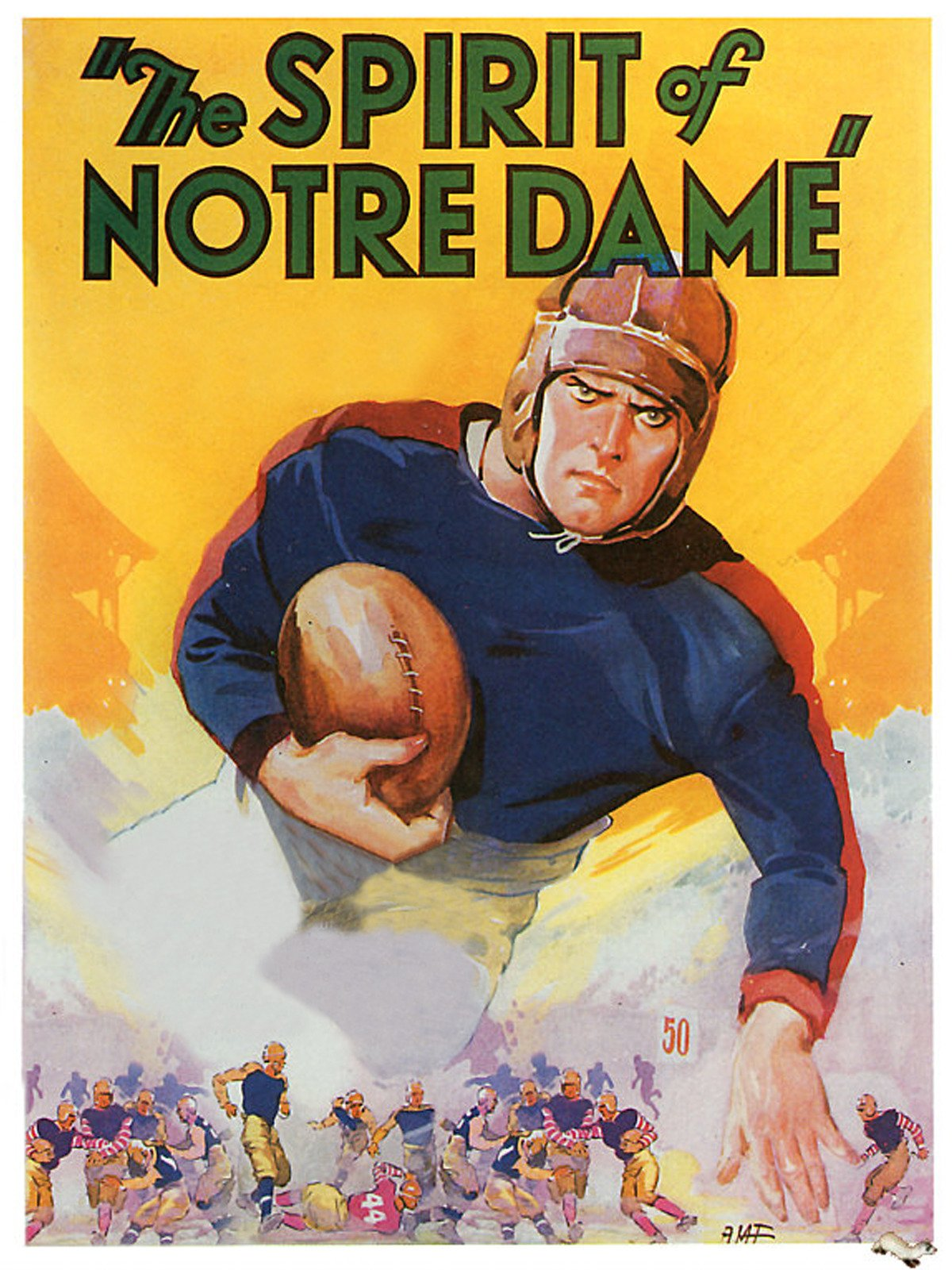 The Spirit of Notre Dame on Amazon Prime Video UK