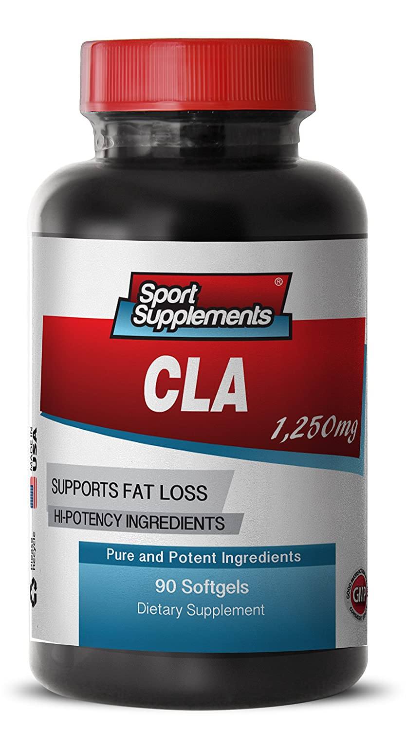 CLA Diet Supplement, Weightloss, Body Fat Loss Lean Muscle (1 Bottle, 90 Softgels) dynamik muscle dynamik muscle eviscerate 90