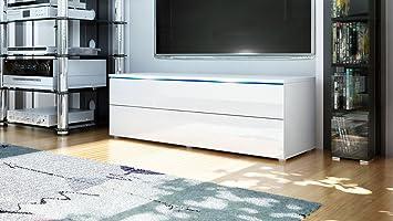 tv board lowboard evora in wei wei hochglanz dc611. Black Bedroom Furniture Sets. Home Design Ideas