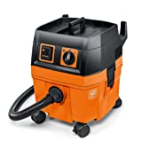 FEIN Turbo I Vacuum Cleaner, 5.8 Gallon, 1100W | Includes: 13 ft Suction Hose, Tool Coupling with Suction Power Control, Cellulose Filter, 1 Fleece Filter Bag (Tamaño: 5.8 Gallon Capacity)