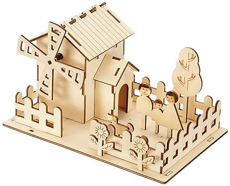 Jamara - 400260 - Maquette - Voiture - 3d Solar Park Home - 3 Pièces