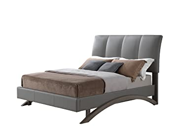 Glory Furniture G2546-QB-UP Bed, Queen, Gray, 3 boxes