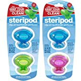 Steripod Clip-on Toothbrush Protector (8 Steripods) Multi color