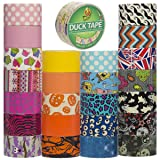 Duck Brand (25 Random Rolls) Colored Duct Tape Pack For Crafts Wallet Decorative Designs DIY Bulk Set Lot