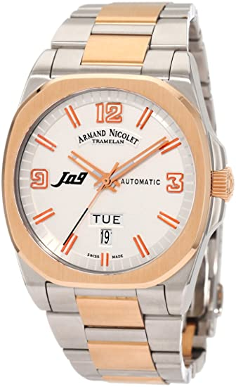 Armand Nicolet Men's 8650A-AS-M8650 J09 Classic Automatic Two-Toned Watch