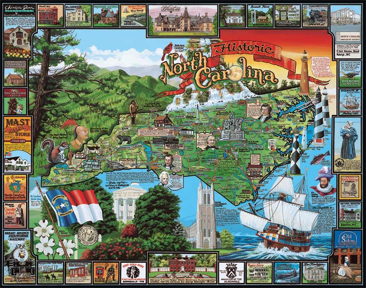 Historic North Carolina Puzzle