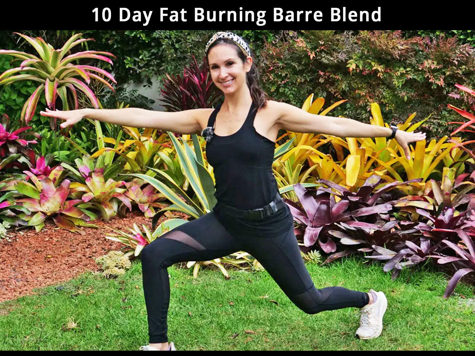 10 Day Fat Burning Barre Blend