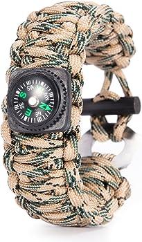 Gonex 550 Paracord Survival Bracelet
