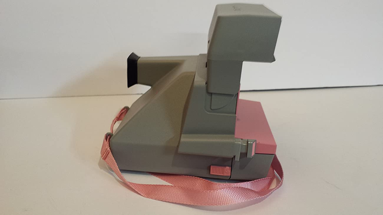 Vintage Polaroid Pink & Gray Cool Cam 600 Instant Camera 4