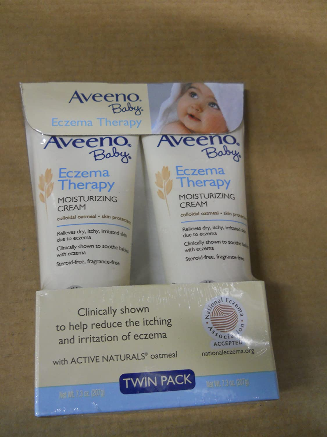 Aveeno Baby Eczema Cream 2Pk /7.3 Oz Bottle