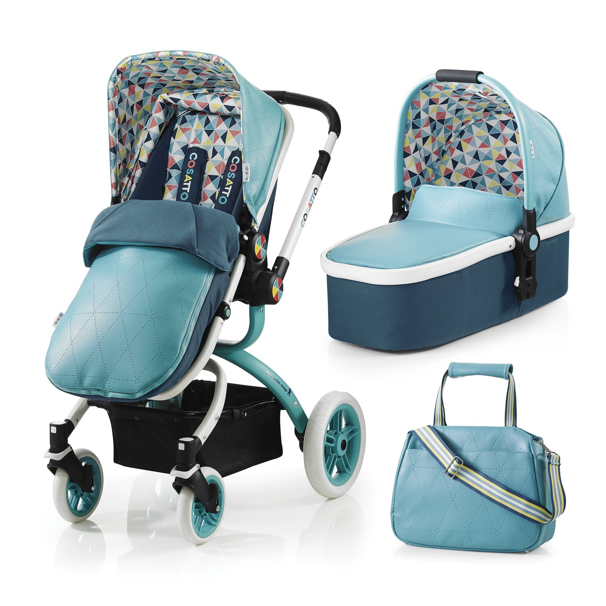 Cosatto Giggle 3-in-1 Travel System Giggle Car Seat Compatible
