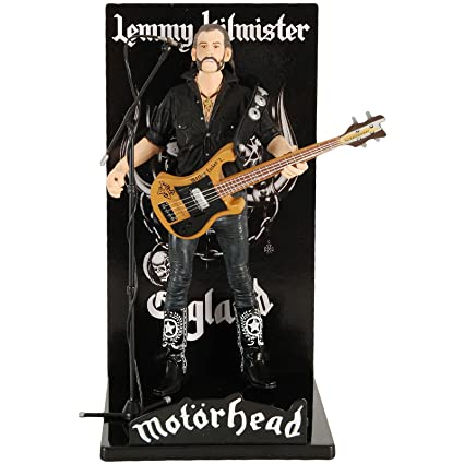 Motorhead - Figurine Lemmy Kilmister Black Pick Guard Guitar 16 cm