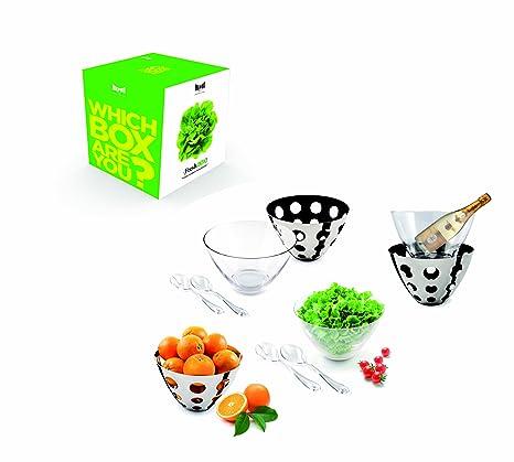 Mepra 290111W - Bote para alimentos, color transparente