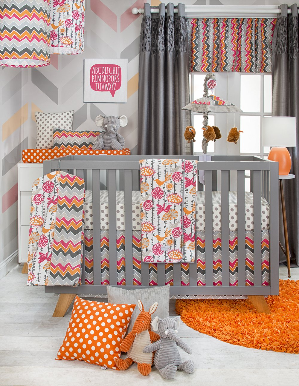 Sweet Potato Calliope Baby Bedding