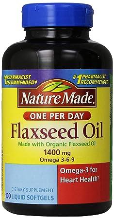 Nature Made有机亚麻籽油100粒$7.92美元