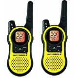 Motorola MH230R 23-Mile Range 22-Channel FRS/GMRS Two-Way Radio (Pair)