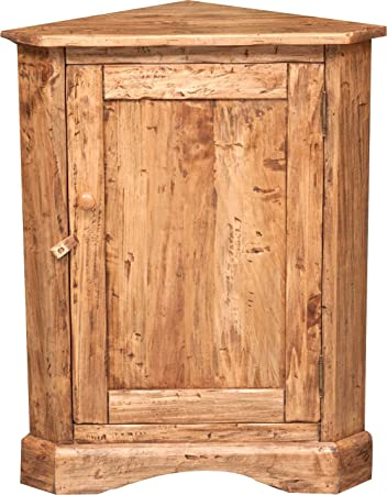 COIN armoire faite de tilleul massif 50 X 50 X 92 CM