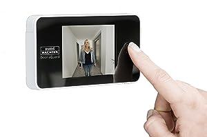 BurgWächter elektronischer Türspion, Door eGuard DG 8100  BaumarktKritiken und weitere Infos