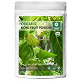 Naturevibe Botanicals USDA Organic Noni Fruit Powder (16 ounces) - Morinda Citrifolia - 100% Pure & Natural | Gluten-Free & Non-GMO