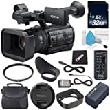 ElectronicsBasket Sony PXW-Z150 4K XDCAM Camcorder + 32GB SDHC Class 10 Memory Card + 62mm UV Filter + Carrying Case + Microfiber Cleaning Cloth + Deluxe Cleaning Kit Bundle (Tamaño: Starter)