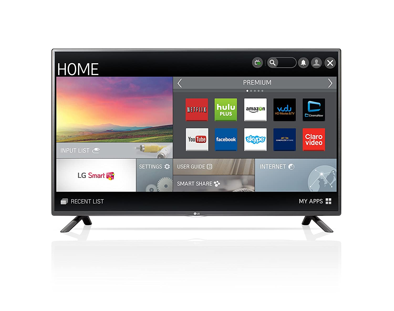 LG 42LF5800 42-Inch 1080p 60Hz Smart LED TV