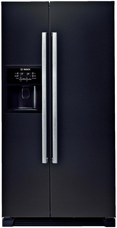 Refrigerateur americain noir for Refrigerateur americain miroir