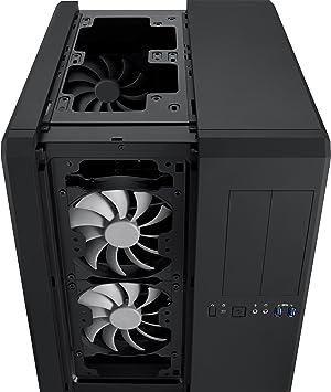CORSAIR CARBIDE AIR 540 ATX Cube Case, High-Airflow - Black (Color: Black, Tamaño: ATX)