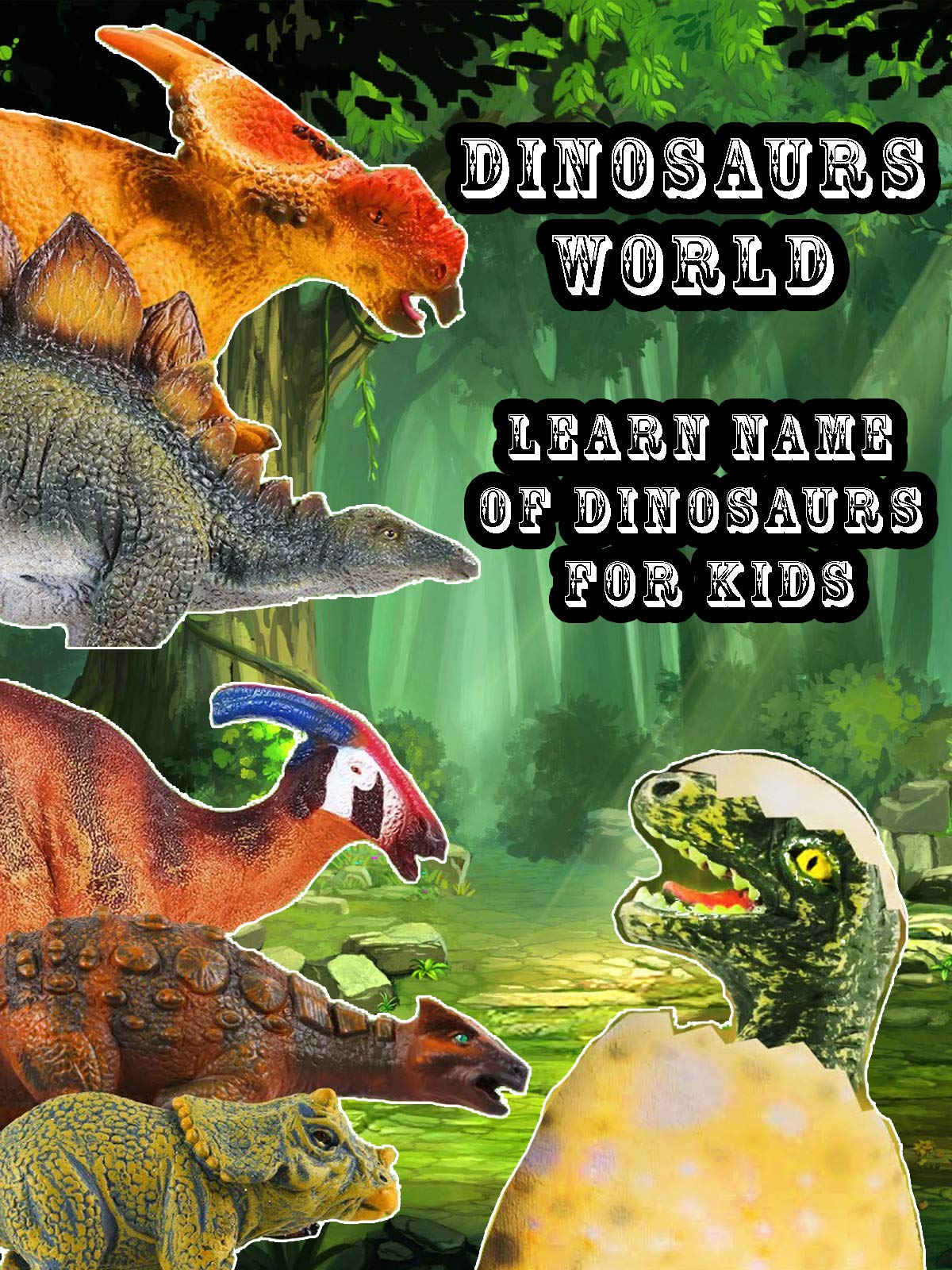 Dinosaurs World: Learn Name of Dinosaurs For Kids