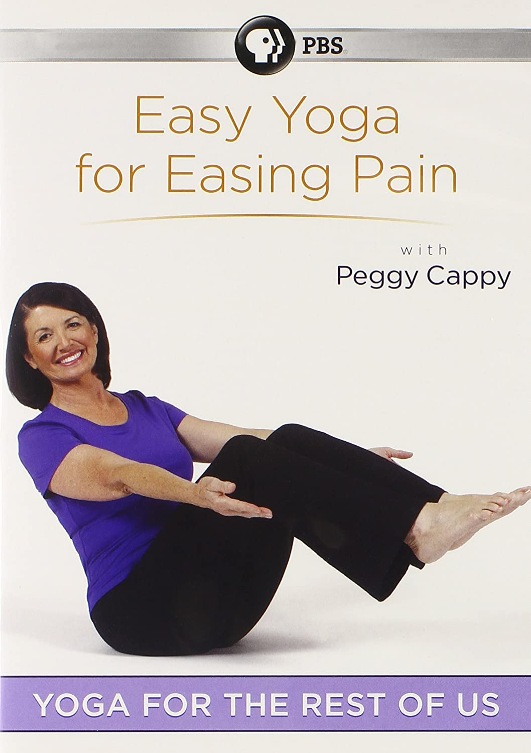 Yoga for the Rest of Us: Easy Yoga for Easing Pain with Peggy Cappy (2012) Peggy Cappy (Actor), . (Director) | Rated: NR | Format: DVD