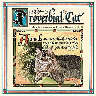 Proverbial Cat 2016 Mini Calendar written by Sydney Hauser