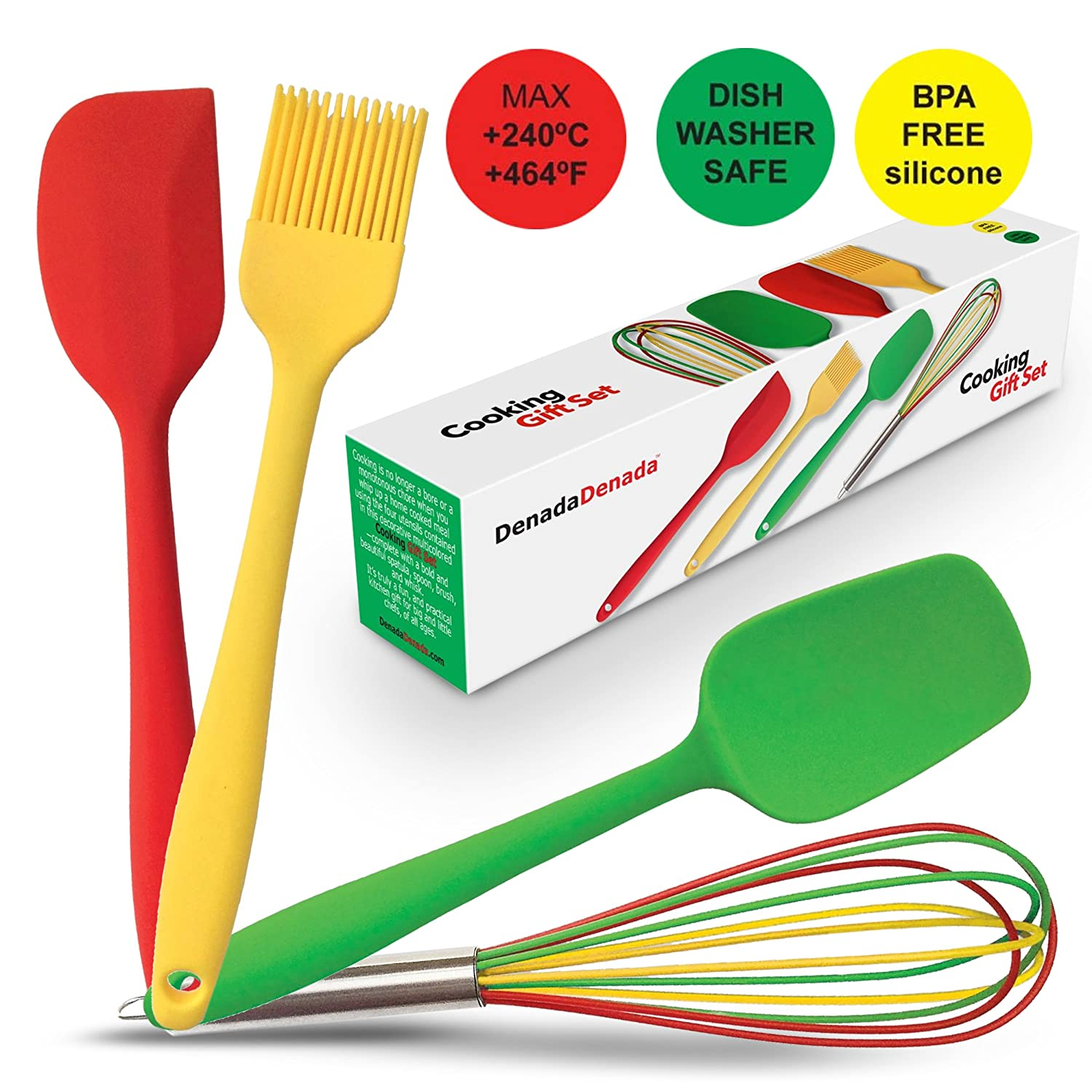 Brightly Colored Silicone Kitchen Tools $2 75 ea at Amazon