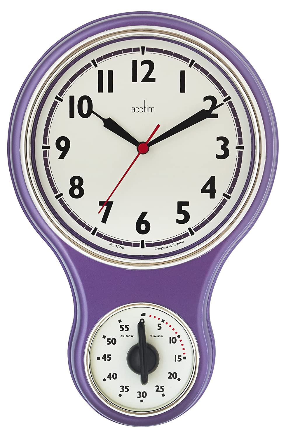 Acctim Kitchen Wall Clock And Timer