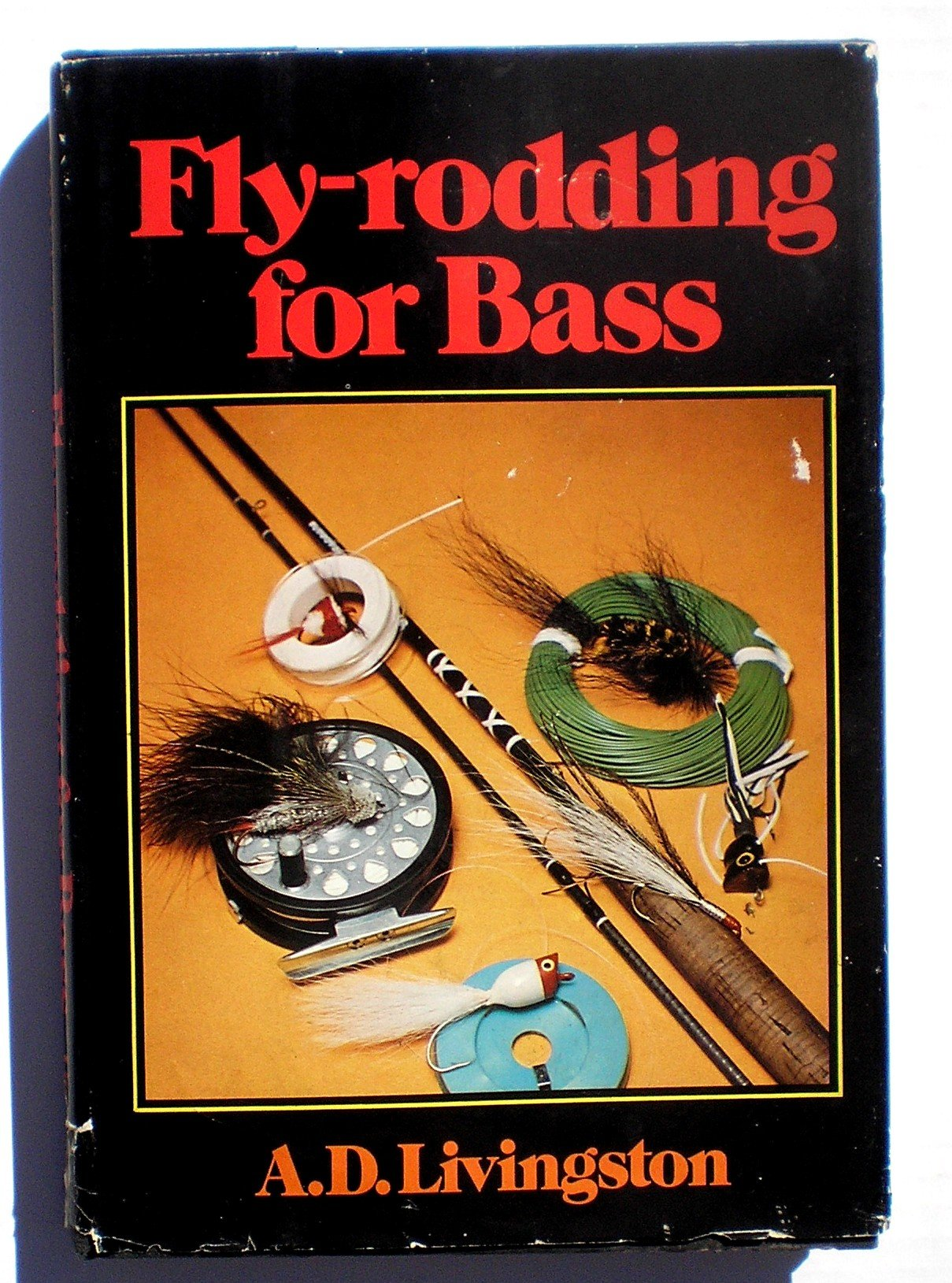 Fly-rodding for bass, Livingston, A. D