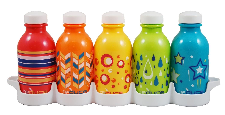 Reduce WaterWeek Kids Kaleidoscope 5 bottle set 10oz