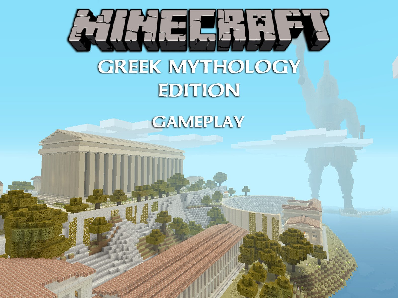 Clip: Minecraft Greek Mythology Edition Gameplay - Season 1