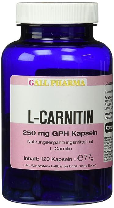 Gall Pharma L-Carnitin 250 mg GPH Kapseln 120 Stuck