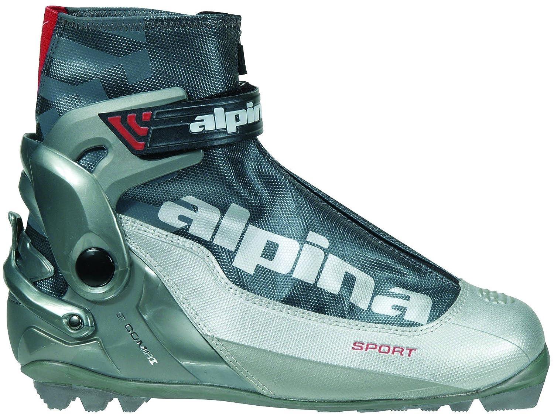 bb1563b589e7 Alpina NNN Ski Equipment - Alpina S Combi Sport Series Cross-Country Nordic  Ski Boots
