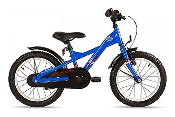 s'cool XXlite 16 steel - Vélo enfant - rouge/bleu 2016 velo enfant 12 pouces