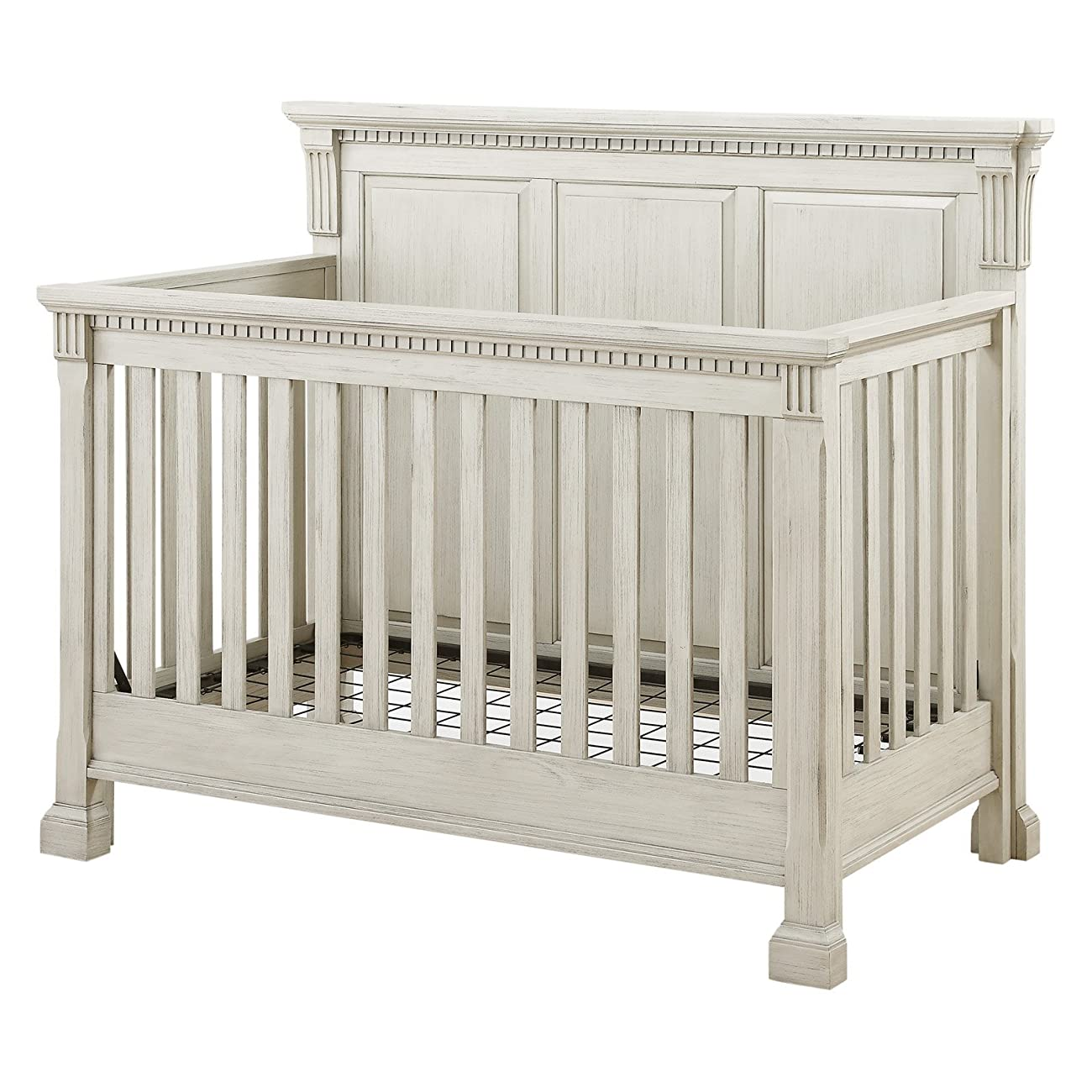 Monbebe Everett 4-in-1 Convertible Crib - Antique 5